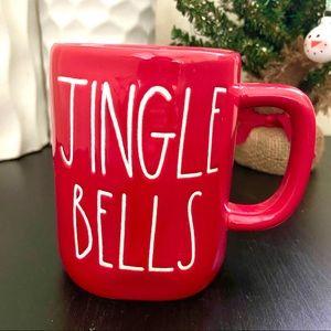 Rae Dunn 'JINGLE BELLS' Christmas Red Mug
